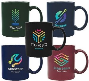 Coffee Mugs with Company Logo
