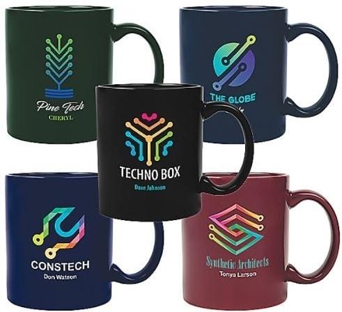Coffee Mugs with Company Logo