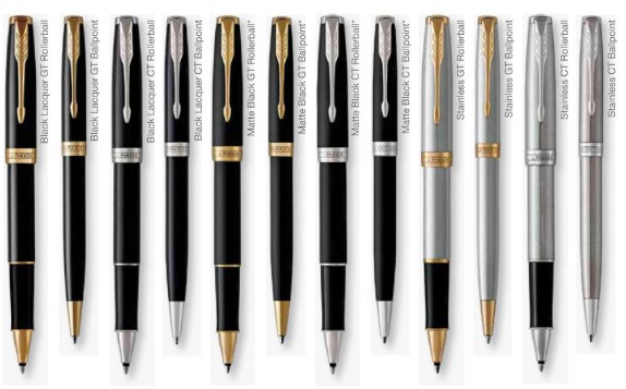 Parker Sonnet Pens for Corporate Markets