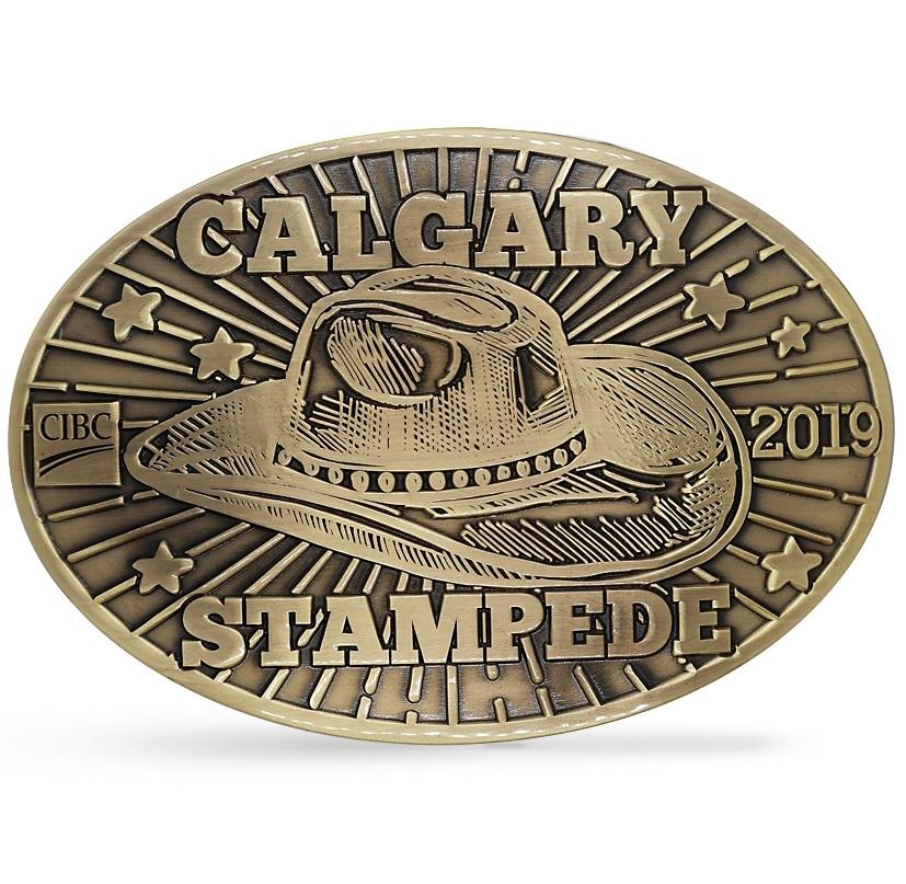 Calgary Stampede Belt Buckles