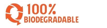 100% Bidodegradable