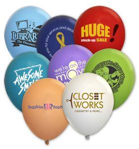 Custom Printed Balloons, Calgary