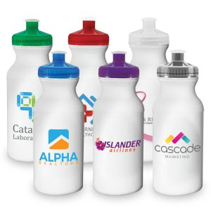 20 Oz. Sports Bottle with Full Colour Imprint