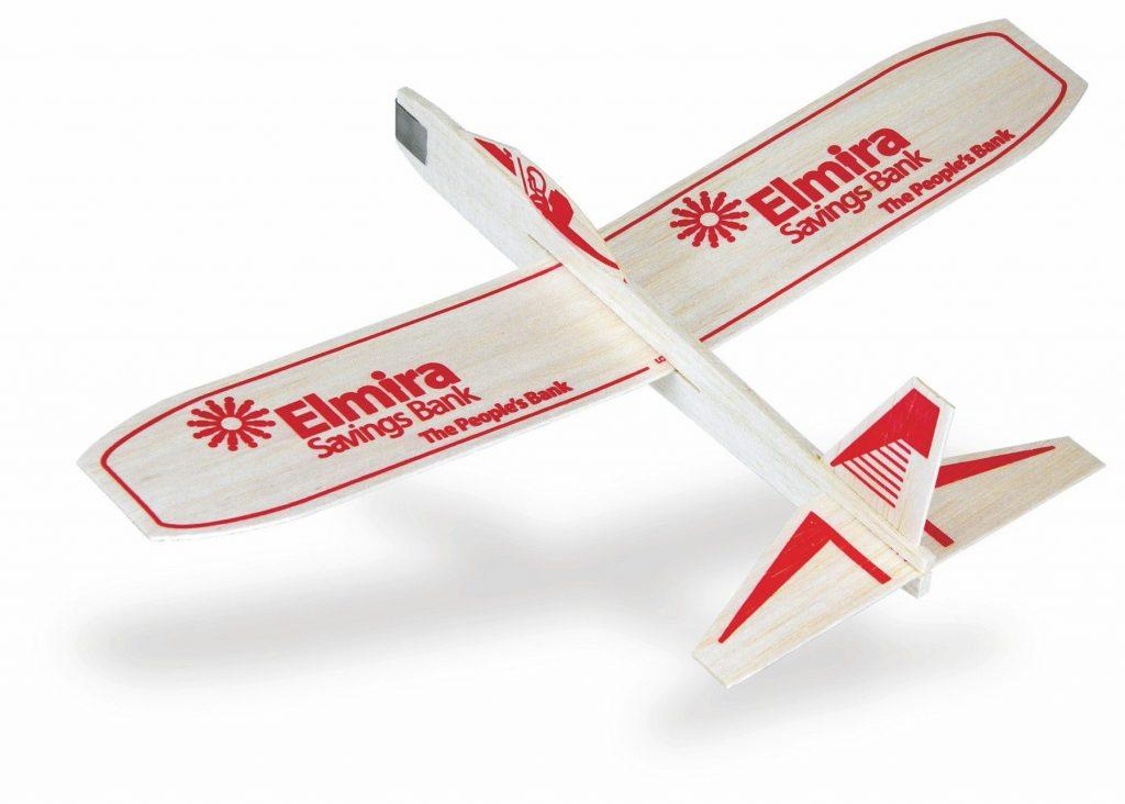 Catalog Photo, Balsa Wood Airplanes - Elmira Savings Bank
