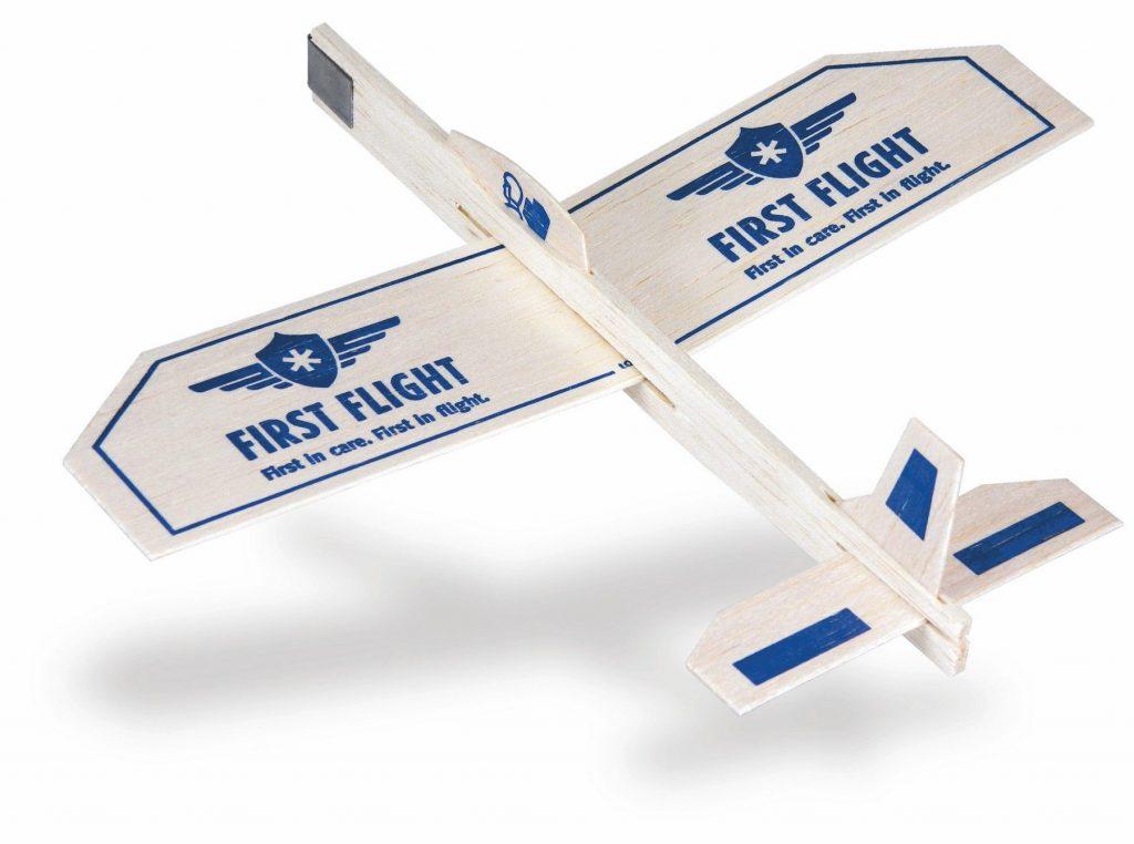 Catalog Image, Balsa Wood Airplanes - First Flight Imprint