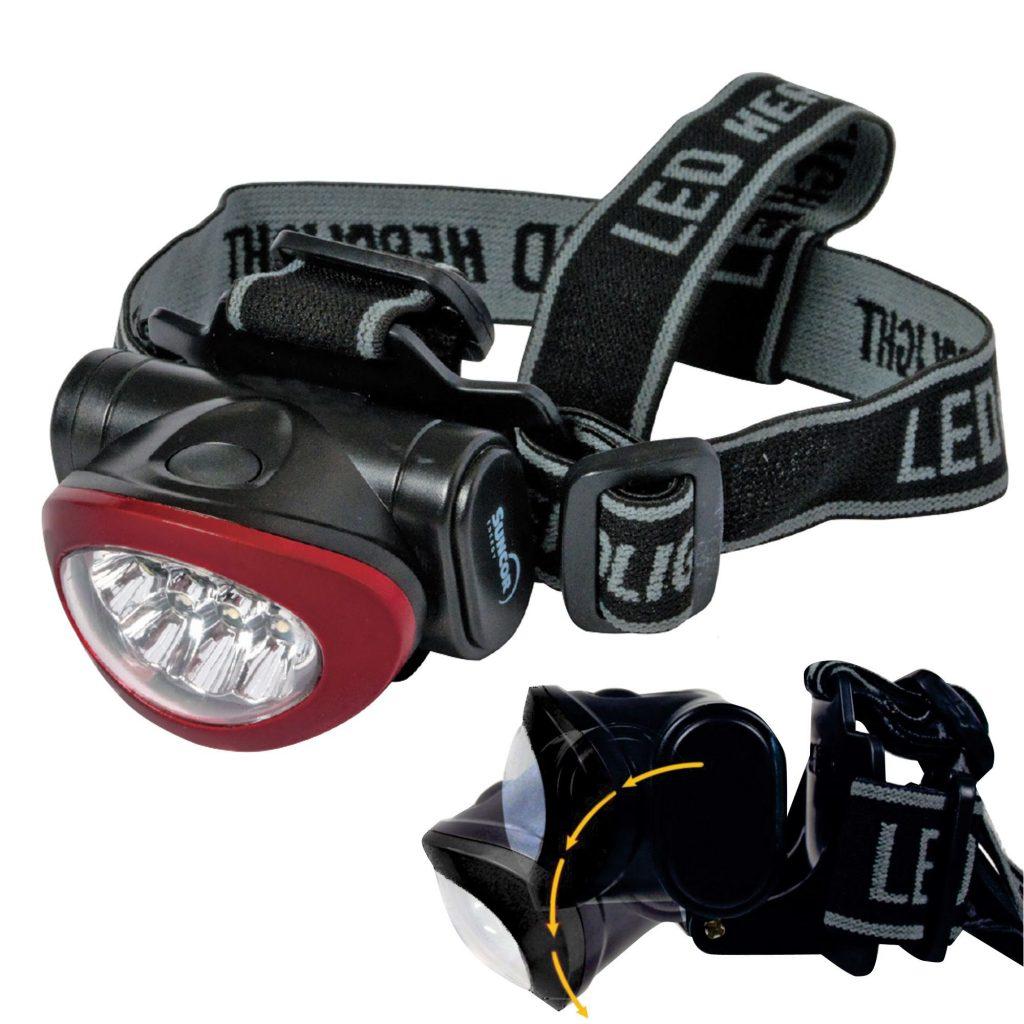 Red & Black Headlamp
