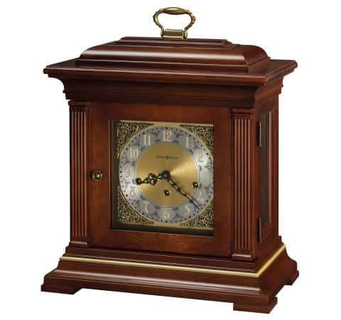 Cherry Wood Mantel Clock
