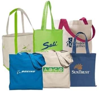 Good Selection of Custom Printed Trade Show Tote Bags