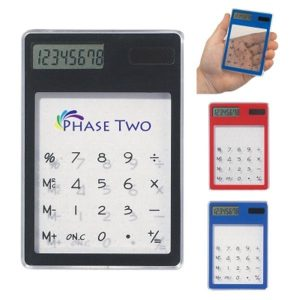 Electronic Calculator with Phase Two Logo