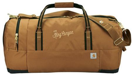 """Carhartt® 30"""" Signature Duffel Bag with Embroidery"""