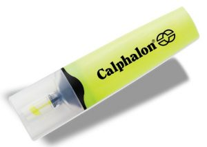 Yellow Clearview Highlighter with Calphalon Logo