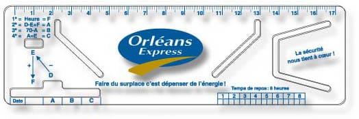 Orlean Express Logbook Rulers