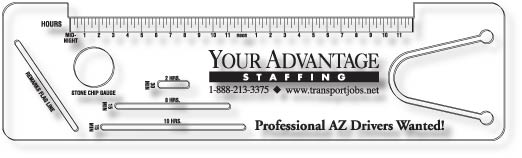 Your Advantage Staffing Logbook Rulers