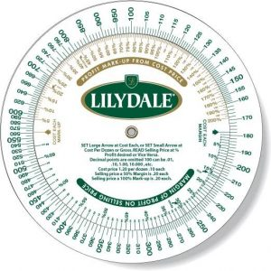 Lilydale Profit Markup Wheel Calculator