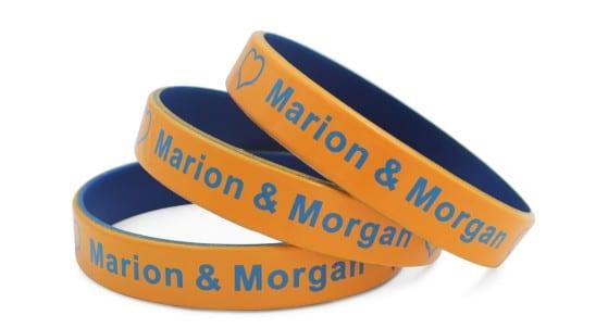 Colour Coated Wristbands
