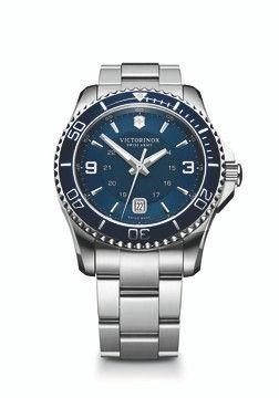 Maverick Blue Stainless Watch