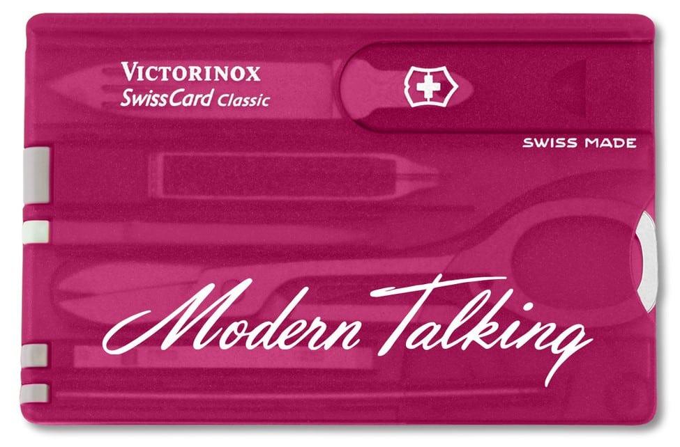 Victorinox Swisscard Classic Pink