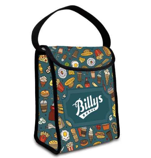 Lunch Bag with Full Coverage Imprint