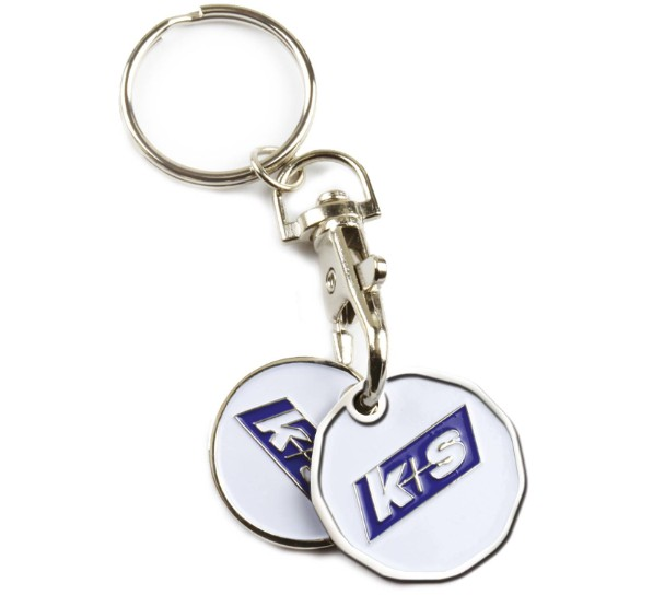 KS Key Chain Shopping Cart Tokens