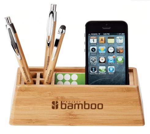 Bamboo Desktop Organzer