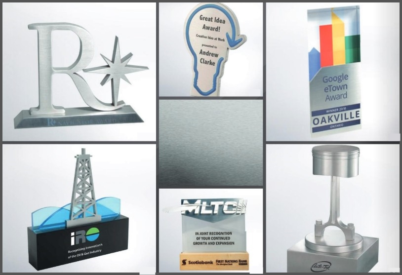 3D Aluminum Recognition Awards