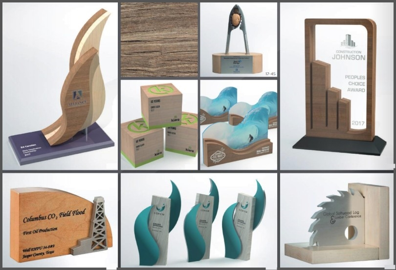 3 Dimensional Wood Awards