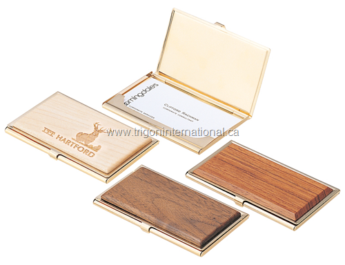Wooden Business Card Cases