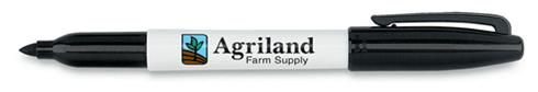 Black & White Sharpie Autograph - Agriland Farm Supply Logo