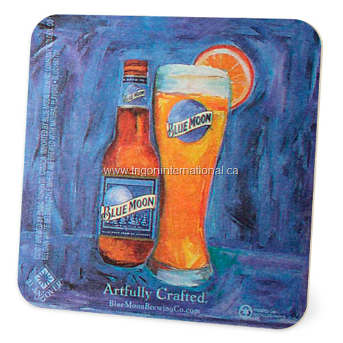 Full Colour Square Coaster - Artfully Crafted