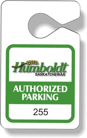 humboldt, Saskatchewan Authorized Parking