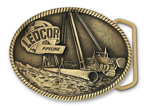 Ledcor Pipeline Custom Belt Buckle