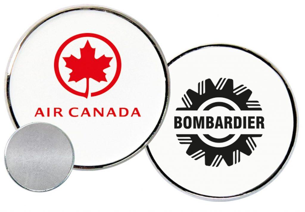 Air Canada - Bombardier Lapel Pin