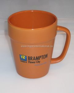 Flower Pot Coffee Mug with Printed Logo