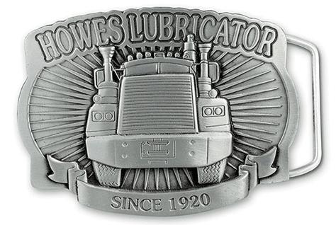 Howes Lubricator - Since 1920  Custom Belt Buckle