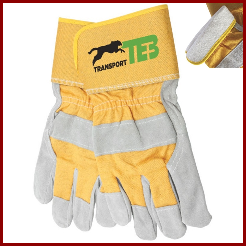Cool Weather Working Gloves with TB Transport Logo