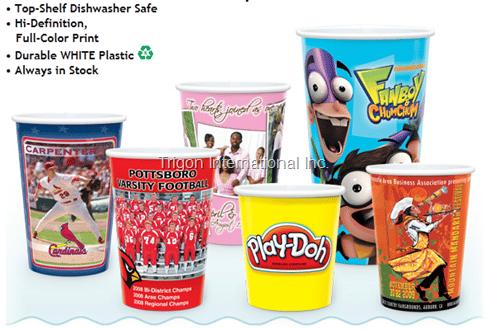 Award Design® Wholesale Plastic Collectors Cups