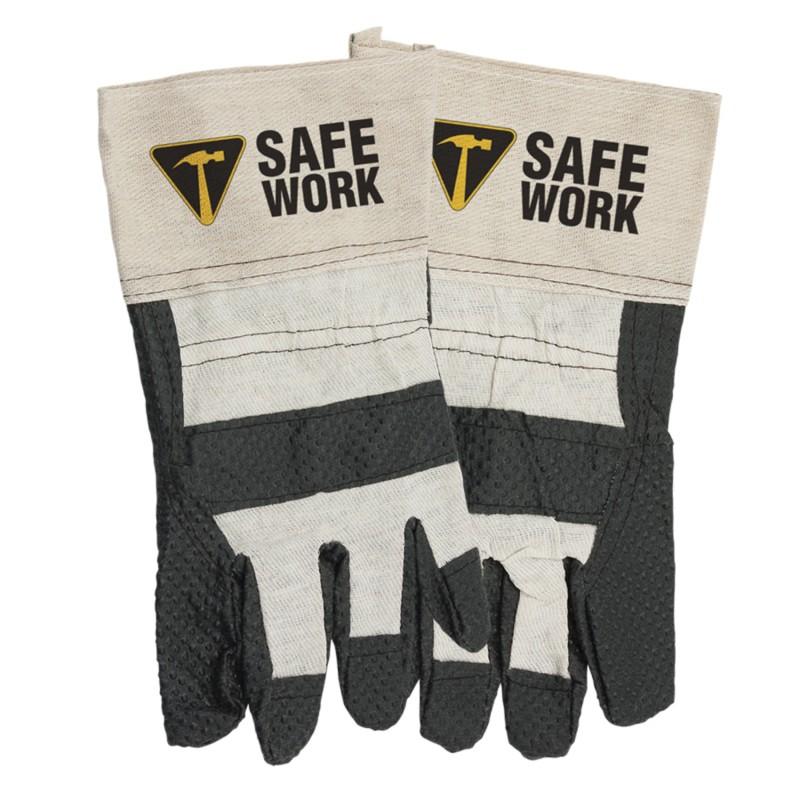 Great Value Work Gloves with Safe Work Logo