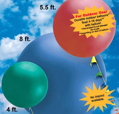 Promotional Balloons Calgary