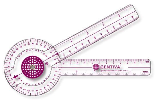 Gentiva Folding Goniometer