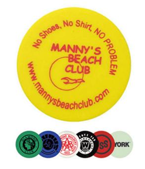 Manny's Beach Club - Wooden Nickel