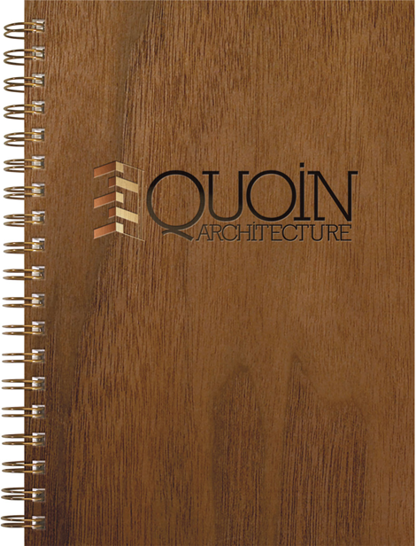 Quoin Architecture Woodgrain Journal