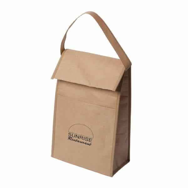 Sunrise Restaurant Kraft Paper resuable Lunch Bag