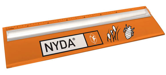 Plastic Ruler with Magnifying Glass - NYDA