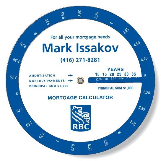 Mark Issakov - RBC - Mortgage Payment Calculator