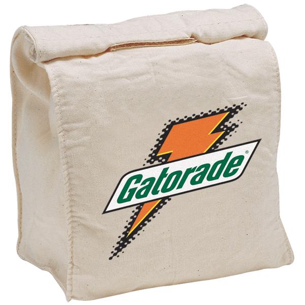 Gatorade 100% cotton lunch bag