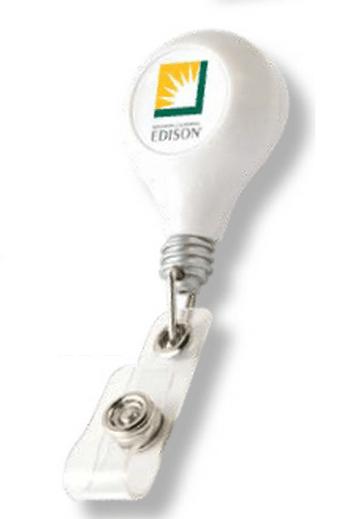Retractable Name Badge Reel - Edison