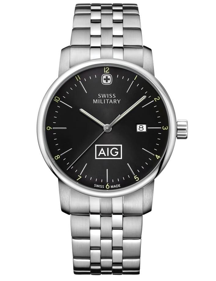 Swiss Military Black AIG Award Watch