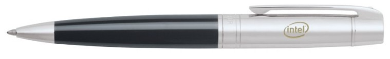 Sheaffer 300 ballpoint pen with Intel Logo