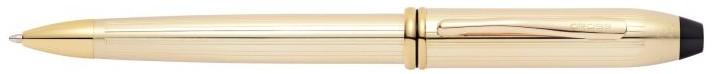 10KT Gold Filled/Rolled Cap & Barrel Ballpoint Pen