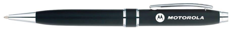Motorola Satin Black Stratford Ballpoint Pen